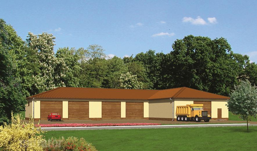 GMC12 Budynek garażowo-magazynowy