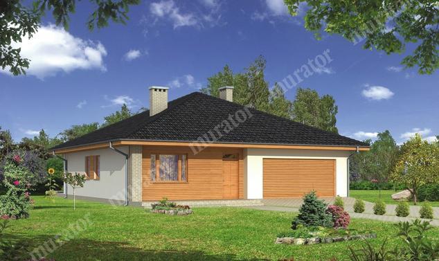 Projekt domu:  Murator C114b   – Znany - wariant II