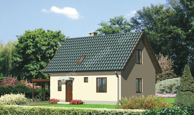 Projekt domu:  Murator C95   – Cichy